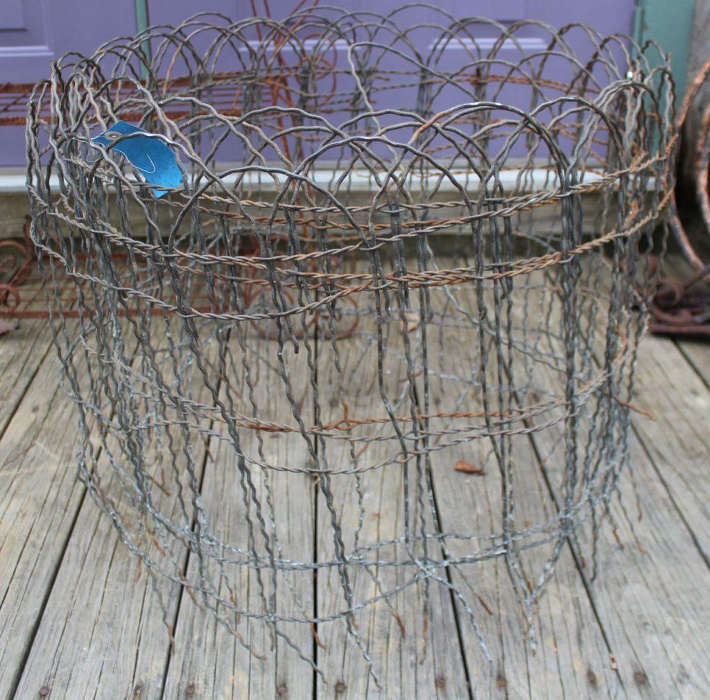 Antique Wire Garden Fencing